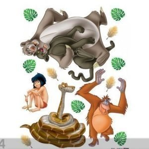 Ag Design Seinätarra Disney Jungle Book 65x85 Cm