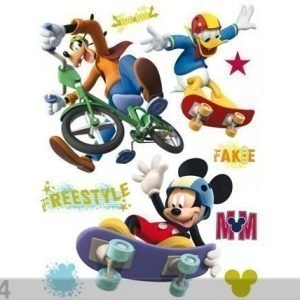 Ag Design Seinätarra Disney Mickey Freestyle 65x85 Cm