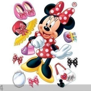 Ag Design Seinätarra Disney Minnie 65x85 Cm