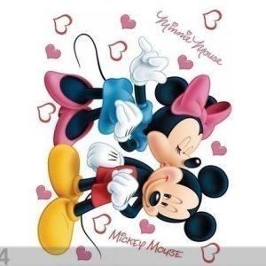 Ag Design Seinätarra Disney Minnie And Mickey'S 65x85 Cm