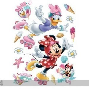 Ag Design Seinätarra Disney Minnie And Pony 65x85 Cm