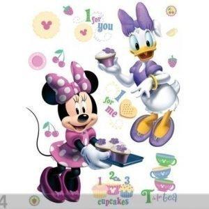 Ag Design Seinätarra Disney Minnie Bakes 65x85 Cm