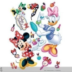 Ag Design Seinätarra Disney Minnie Makeup 65x85 Cm