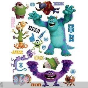Ag Design Seinätarra Disney Monsters 65x85 Cm