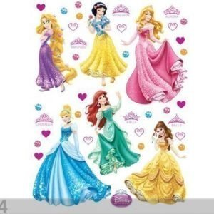Ag Design Seinätarra Disney Princess 2