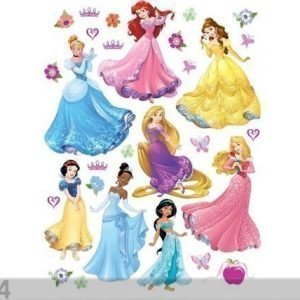 Ag Design Seinätarra Disney Princess 65x85 Cm
