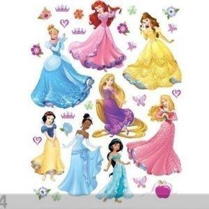 Ag Design Seinätarra Disney Princess 65x85 Cm