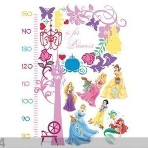 Ag Design Seinätarra Disney Princess Measure Of Growth
