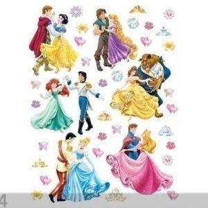 Ag Design Seinätarra Disney Princesses And Princes 65x85 Cm