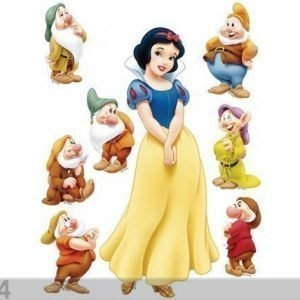 Ag Design Seinätarra Disney Snow White 65x85 Cm