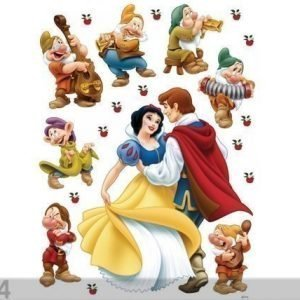 Ag Design Seinätarra Disney Snow White And Prince 65x85 Cm