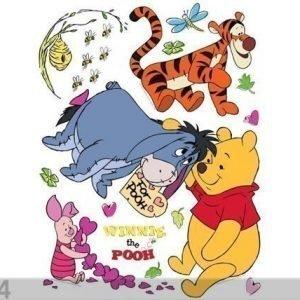 Ag Design Seinätarra Disney Winnie The Pooh 65x85 Cm