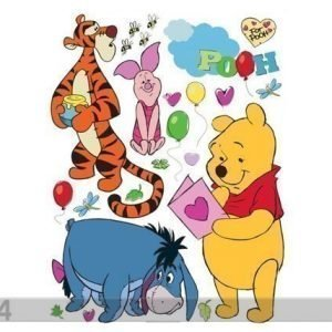 Ag Design Seinätarra Disney Winnie The Pooh And Friends 42