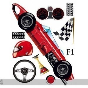 Ag Design Seinätarra Formula 1