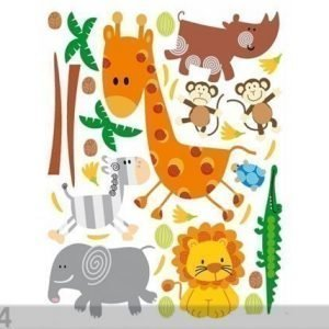 Ag Design Seinätarra Giraffe 42