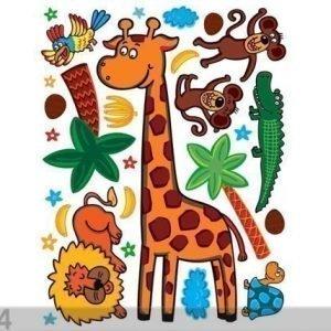 Ag Design Seinätarra Giraffe 65x85 Cm
