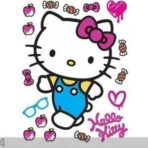 Ag Design Seinätarra Hello Kitty 65x85 Cm