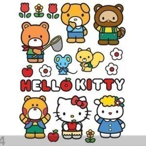 Ag Design Seinätarra Hello Kitty And Friends 65x85 Cm