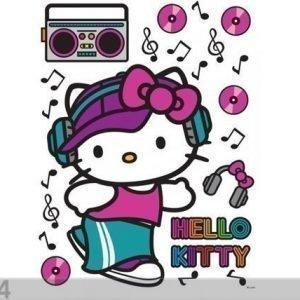 Ag Design Seinätarra Hello Kitty Music 65x85 Cm