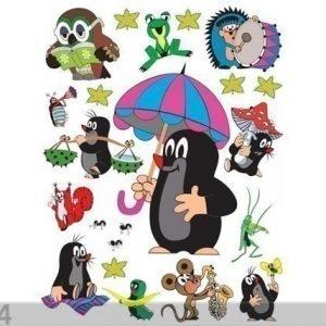 Ag Design Seinätarra Mole With Umbrella 65x85 Cm