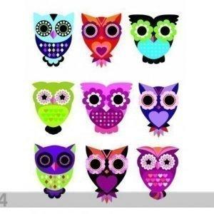Ag Design Seinätarra Owls 65x85 Cm