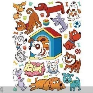 Ag Design Seinätarra Pets 65x85 Cm