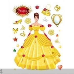 Ag Design Seinätarra Princess In Yellow 65x85 Cm