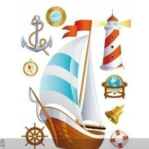 Ag Design Seinätarra Ship 65x85 Cm