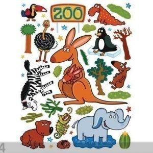 Ag Design Seinätarra Zoo 65x85 Cm