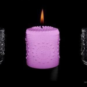 Aihio Grapponia kynttilä roosa
