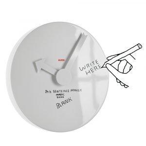 Alessi Blank Wall Clock Seinäkello Ilman Numeroita