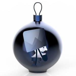 Alessi Blue Christmas Ornament Puu 5