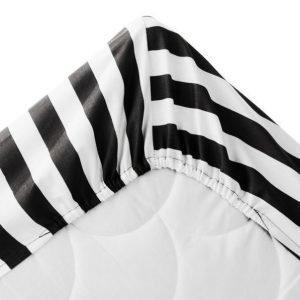 Alex Kuminauhalakana 60x120 Cm Ekologinen Musta / Valkoinen 60x120+21cm