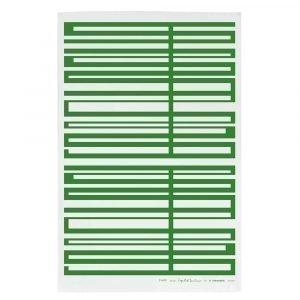 Almedahls Snapp Keittiöpyyhe Vihreä / Valkoinen 47x70 Cm