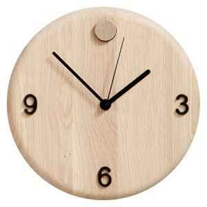 Andersen Wood Time Kello Tammi 22 Cm