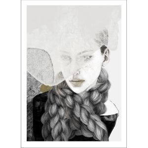 Anna Bülow Braids Juliste 50x70 Cm