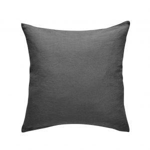 Anno Pellava Tyynynpäällinen Tummanharmaa 50x50 Cm