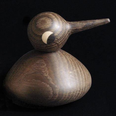 Architectmade Bird Puuhahmo Tumma Tammi Pullea
