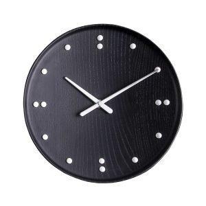 Architectmade Fj Clock Seinäkello Musta 25 Cm