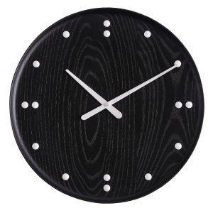 Architectmade Fj Clock Seinäkello Musta 35 Cm