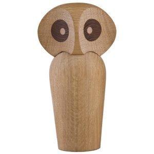 Architectmade Owl Puuhahmo Iso Vaalea Tammi