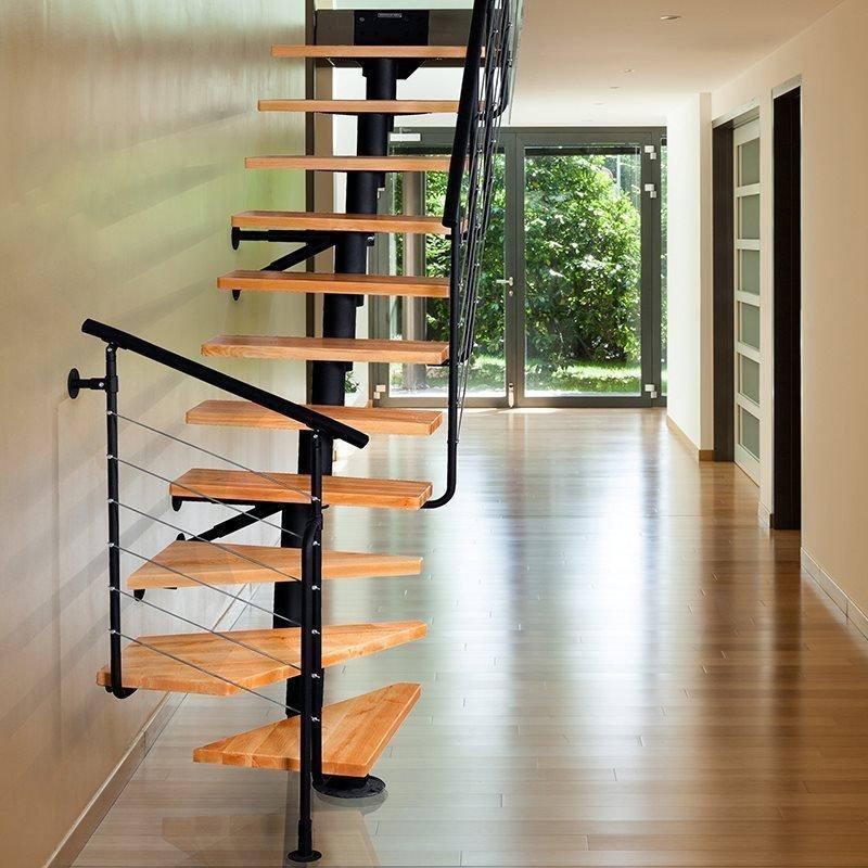 Atrium Dixi Plus 2 Tilaa säästävät portaat