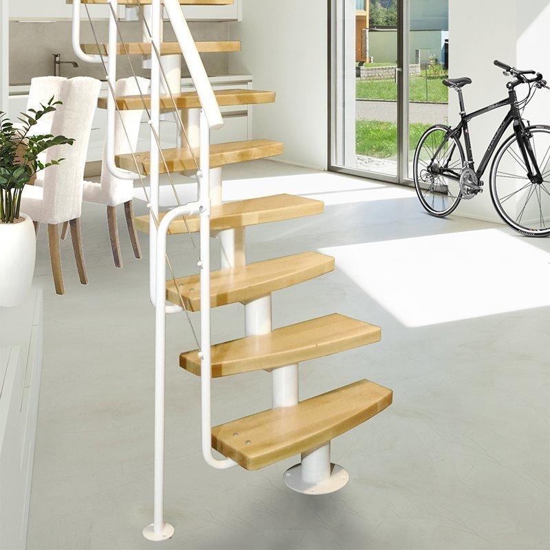 Atrium Mini Plus 2 Tilaa säästävät portaat