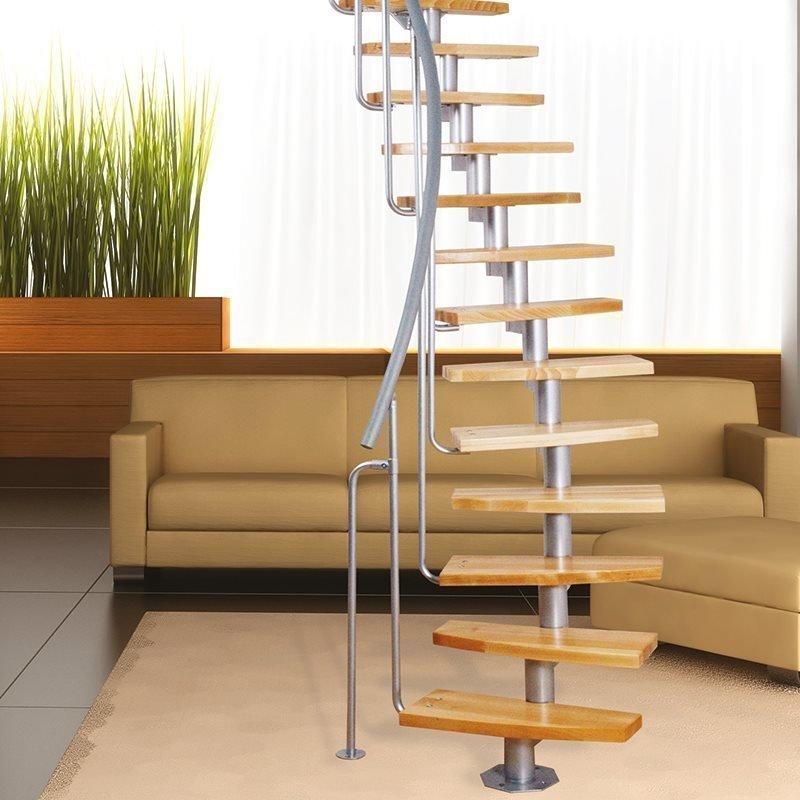 Atrium Mini Plus Tilaa säästävät portaat