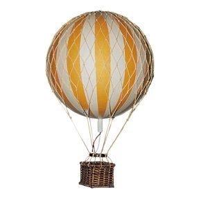Authentic Models Floating The Skies Kuumailmapallot Keltainen