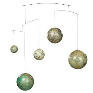 Authentic Models Globe Mobiili
