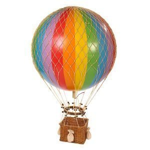 Authentic Models Jules Verne Balloon Rainbow