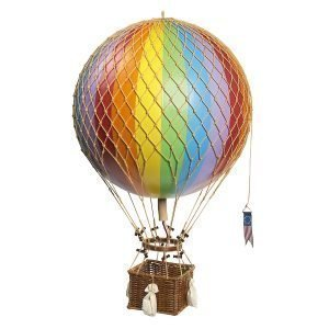 Authentic Models Royal Aero Air Balloon Rainbow
