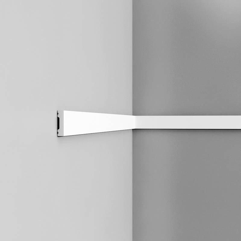Axxent DX162 Oven vuorilauta 230X4X1 Valkoinen