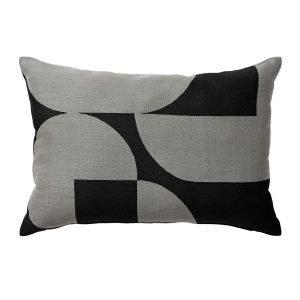 Aytm Forma Tyyny Vaaleanharmaa / Musta 40x60 Cm